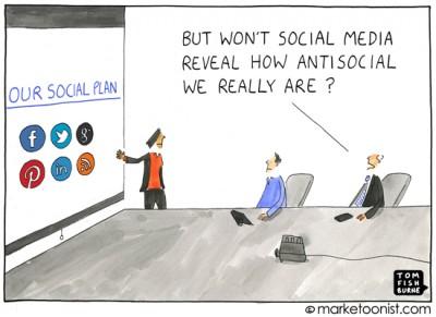 Social media en toch niet a-sociaal