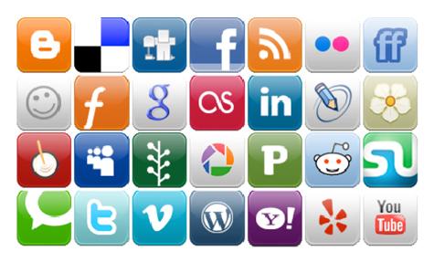 Uw logo en de social media afmetingen