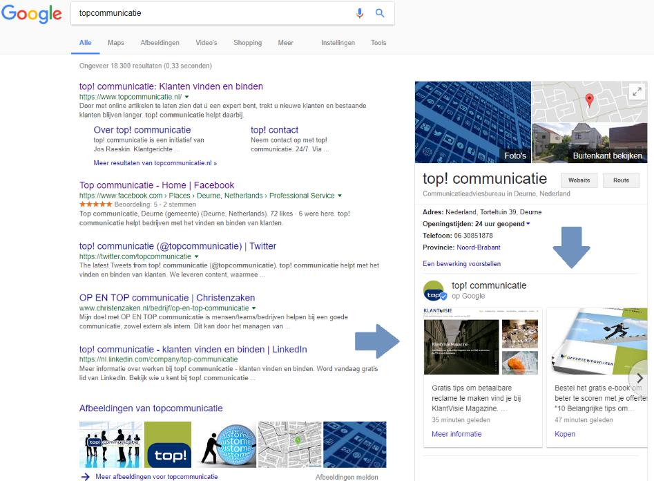 Nieuw: Google Posts. Wat is het en wat kunt u ermee?